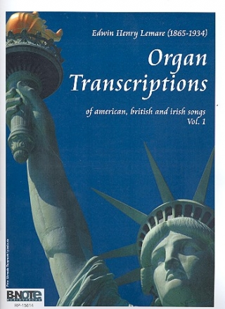 Organ Transcriptions of American, British and Irish Songs vol.1 - for organ
