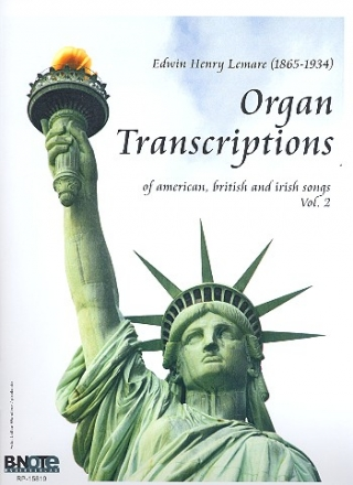 Organ Transcriptions of American, British and Irish Songs vol.2 - for organ