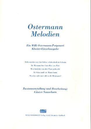 Willi Ostermann Potpourri