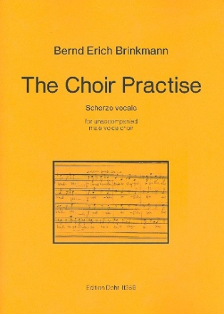 The Choir Practise for unaccompanied male voice choir score