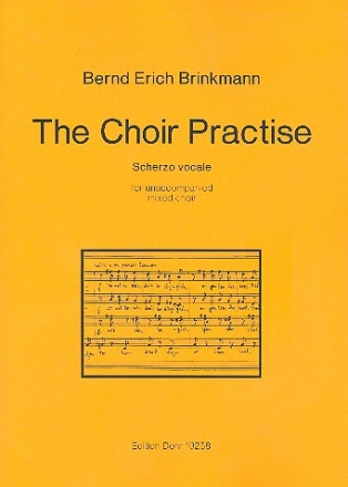 The Choir Practise for unaccompanied mixed choir score