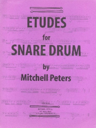 Etudes - for snare drum