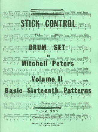 Stick Control vol.2 - Basic Sixteenth Patterns - for drum set