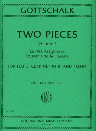 2 Pieces vol.1 for flute, clarinet and piano parts