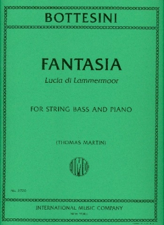 Fantasia Lucia di Lammermoor for string bass and piano