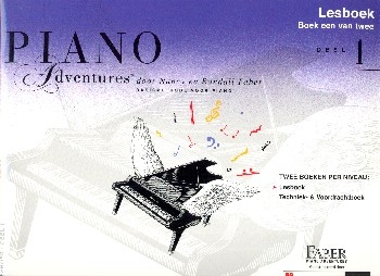 Piano Adventures vol.1 - lesboek (nl)