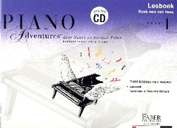 Piano Adventures vol.1 (+CD) - lesboek (nl)