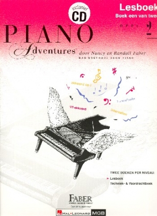 Piano Adventures vol.2 (+CD) - lesboek (nl)