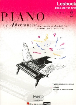 Piano Adventures vol.2 - lesboek voor piano (nl)