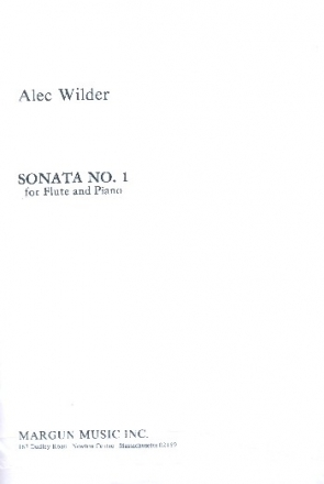 Sonata no.1 for flute and piano