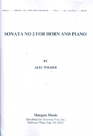 Sonata no.2 for horn and piano