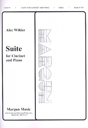 Suite for clarinet and piano