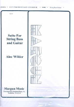 Suite for string bass and guitar score and parts