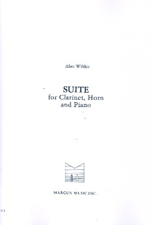 Suite for clarinet, horn and piano parts