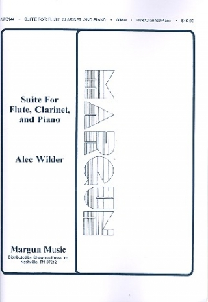Suite for flute, clarinet and piano parts