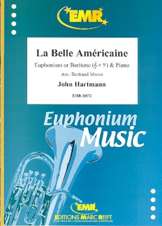 La belle américaine - for euphonium (baritone) and piano