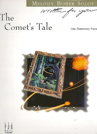The Comet's Tale - for late elementary piano