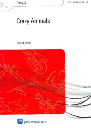 Crazy Animals - for flexible ensemble scorte and parts