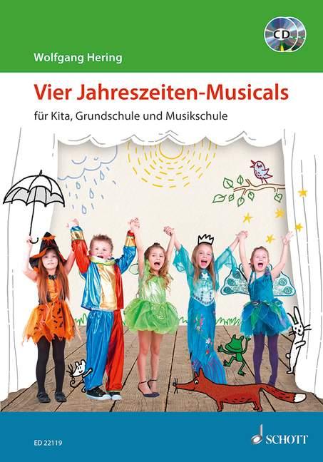 vier jahreszeitenmusicals für kita grundschule und