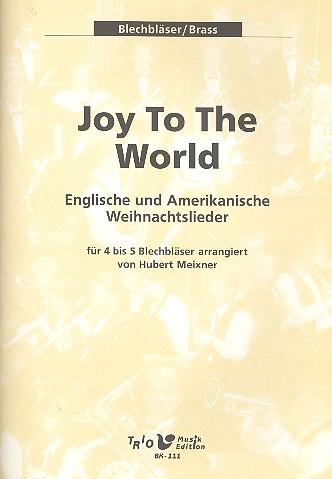 Amerikanische Weihnachtslieder Noten.Joy To The World Englische Und Amerikanische Weihnachtslieder Für 4 5 Blechbläser