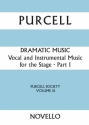 Vocal and Instrumental Music for the Stage vol.1 score