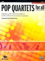Pop Quartets for All - for 4 instruments (flexible ensemble) violin score