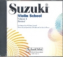 Suzuki Violin School vol.4 - CD Revised edition