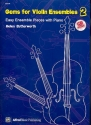Gems for violin ensembles vol.2 (+CD) score (en)