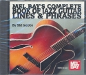 Complete Book of Jazz Guitar Lines and Phrases CD