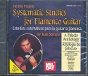 Systematic studies for flamenco guitar 2 CD's