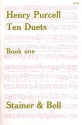 10 Duets vol.1 (nos.1-6) for 2 voices and keyboard