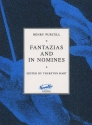 FANTAZIAS AND IN NOMINES FOR 4-7 VOICES,   SCORE