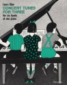 Concert Tunes for Three - for 6 hands at 1 piano