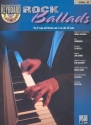 Rock Ballads (+CD) - Songbook keyboard (piano) / vocal / guitar