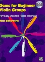 Gems for Beginner Violin Groups (+CD) for violin ensemble and piano score
