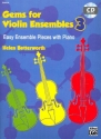 Gems vol.3 (+CD) for violin ensemble score and printable parts