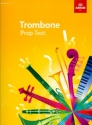 Trombone Prep Test 2017+ - for trombone bass clef and piano