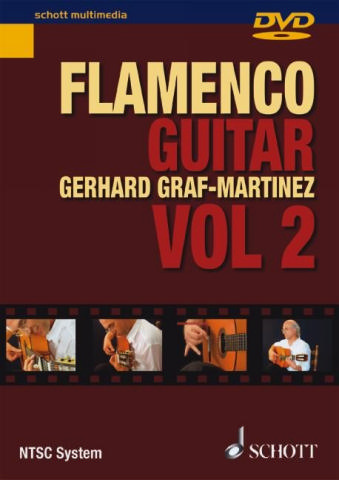 Flamenco guitar method vol.2 DVD-Video (NTSC-System, nur für Amerika geeignet)
