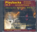 Playbacks for Drummer vol.8 CD Instrumental Crossover