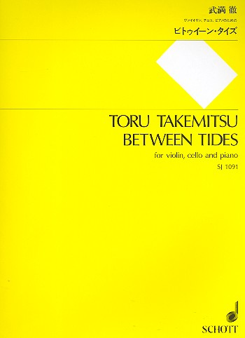 Between Tides for violin, cello and piano Partitur und Stimmen