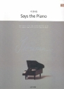 Yiruma Says the piano: for easy piano Songbook (PUR)