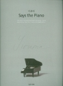 Yiruma Says the Piano: for piano Songbook (PUR)