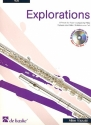 Explorations (+CD) 8 Pieces for flute