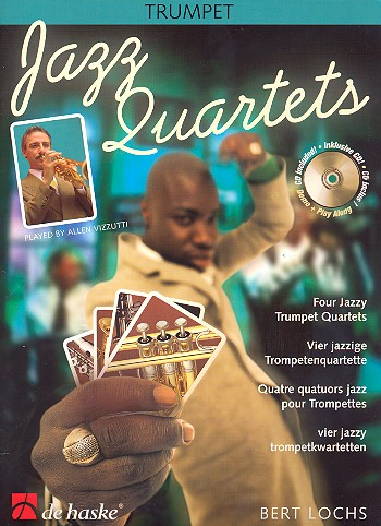Jazz quartets (+CD) - for 4 trumpets score and parts