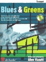 Blues and Greens (+CD) - für Trompete