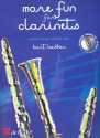 More Fun for Clarinets (+CD) - for 3 clarinets score and parts