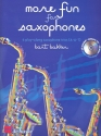 More Fun for Saxophones (+CD) - for 3 saxophones (AAT) score and parts