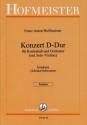 Für Kontrabaß Und Orchester D Preiswert Kaufen Franz Anton Hoffmeister : Konzert Dur