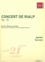 Concert de Rialp op.70 for guitar and orchestra score