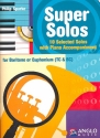 Super Solos (+CD) - for baritone (euphonium) and piano (treble clef and bass clef)